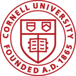 Cornell University Crest founded a.d. 1865